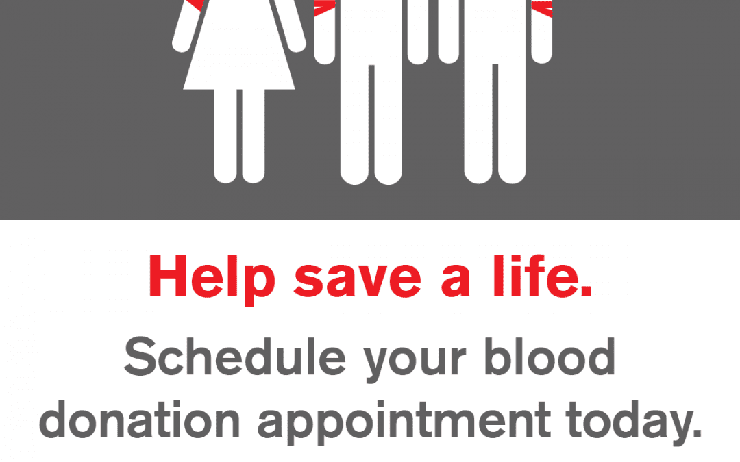 Blood Drive July 21 at 11 AM