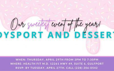 Dysport and Desert at Health Fit MD